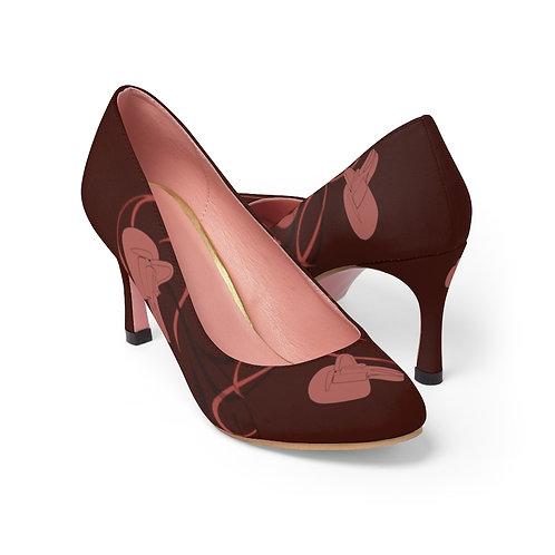 Side Saddle High Heels