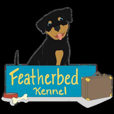 Featherbed kennel, flemington nj, dog boarding, logo design, website creation, website services