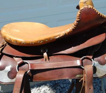 Restored Western Show Side Saddle