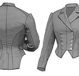 TV Fitted Riding Jacket Pattern