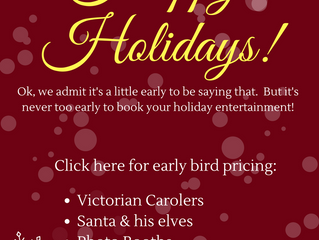 Book For the Holidays Today