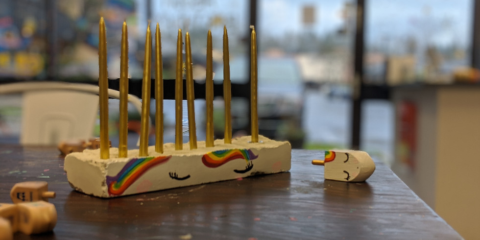 Hanukkah Menorah Workshop