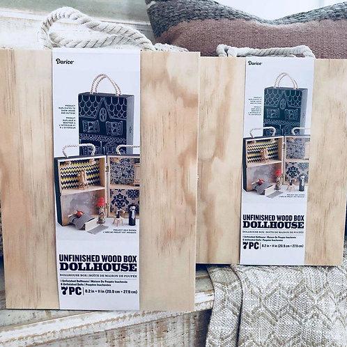 Unfinished Dollhouse