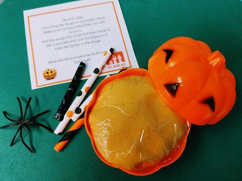 Homemade Pumpkin Pie Playdough