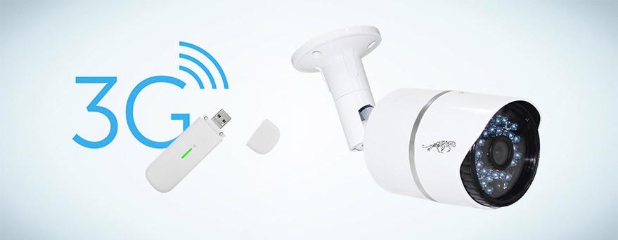 модем 3G и единственная IP камера