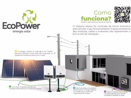 Ecopower - Solução em energia solar fotovoltaica