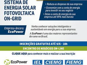 Ecopower convida: Evento online e gratuito - Dia 10/06