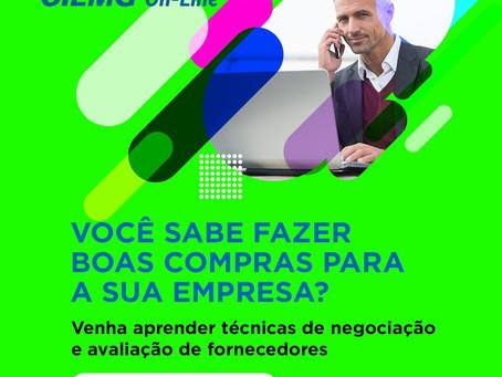 Curso on-line Gestão de Compras e Suprimentos - Ciemg/Avimig