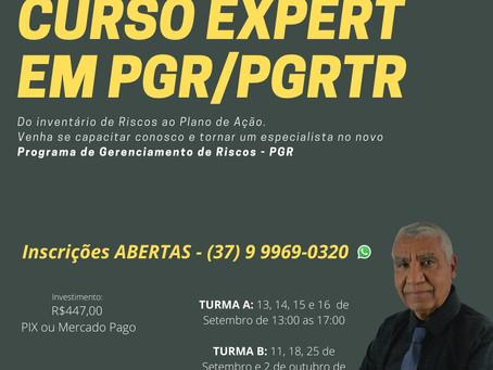 Curso Expert em Programa de Gerenciamento de Risco/PGRTR