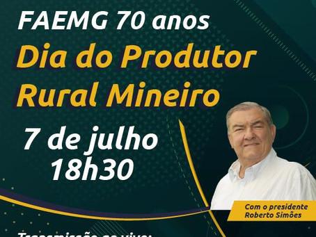 Convite 70 Anos da FAEMG - Participe!!