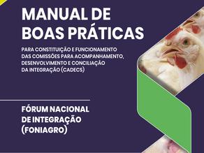 Foniagro lança Manual de Boas Práticas para as Cadecs