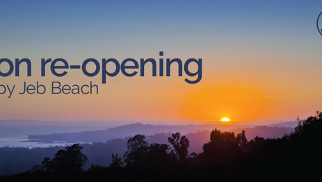 on re-opening
