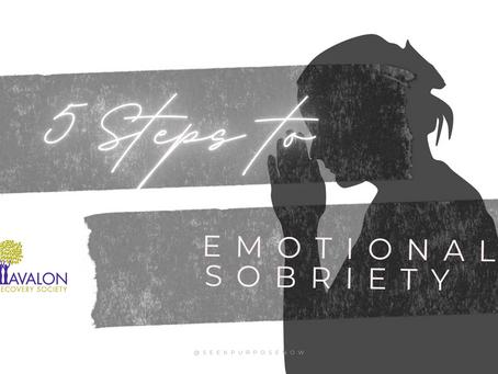 5 STEPS TOWARDS EMOTIONAL SOBRIETY