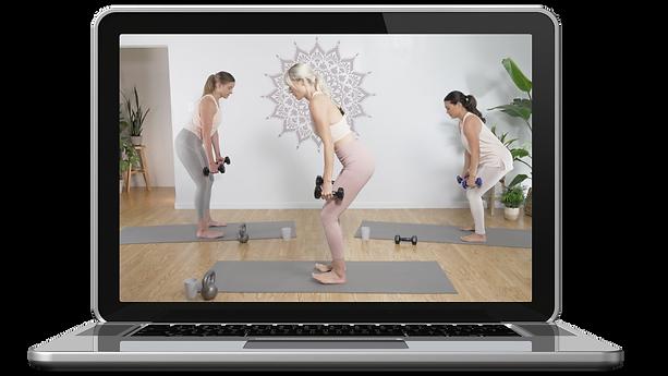 postpartum workouts online