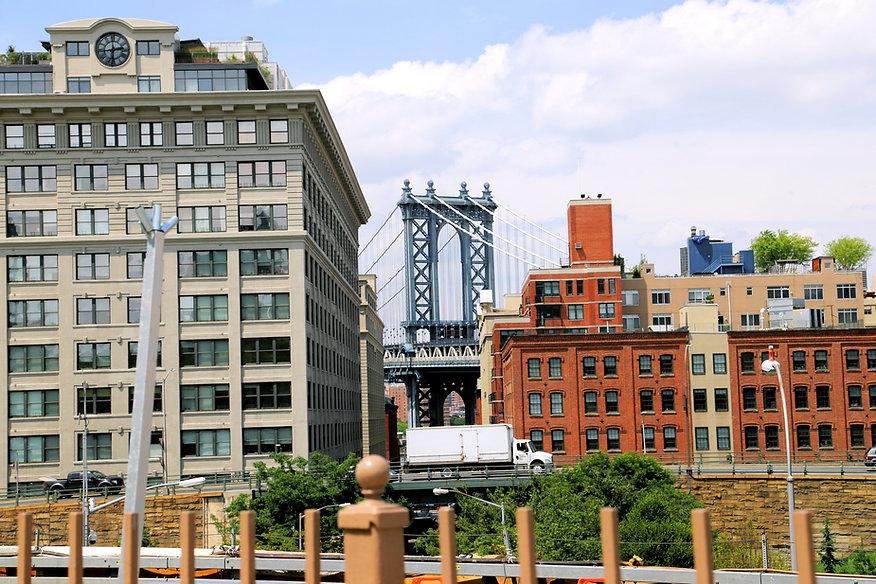 Dumbo from Brooklyn Bridge