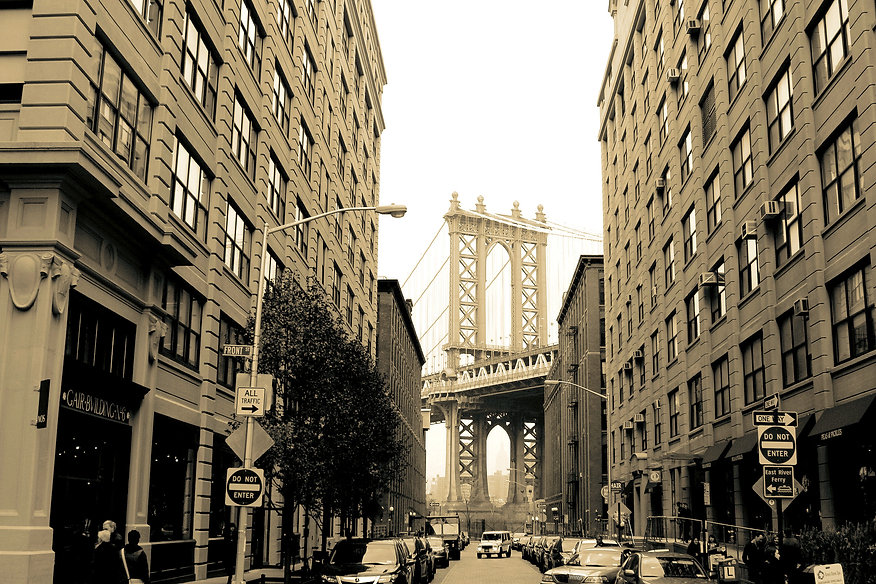 Dumbo and the Bridge by Steven Swancoat