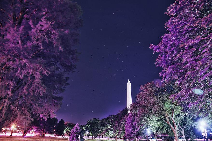 Jupiter and Washington Monument