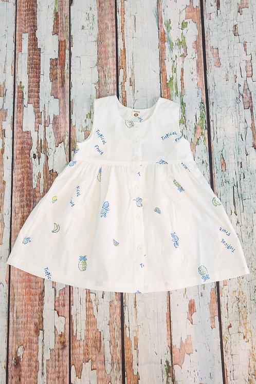 Sweet Fruit Sleeveless Dress