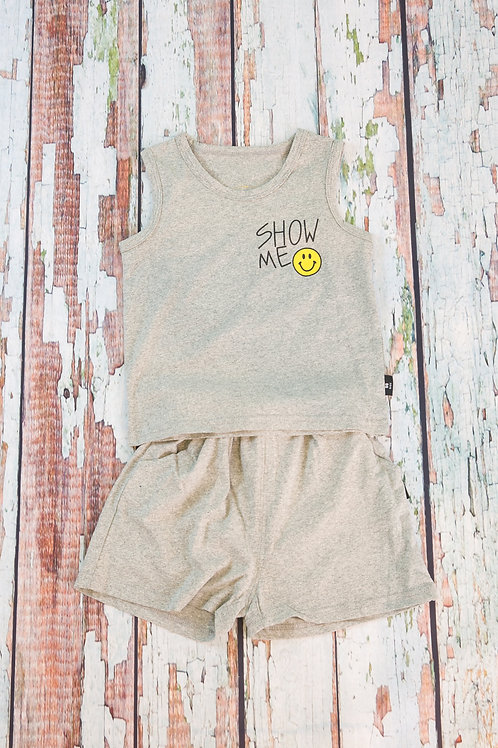 Show me smile tank and shorts set