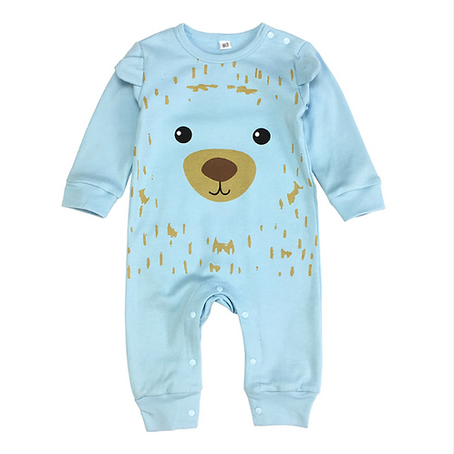 Cute bear body suit