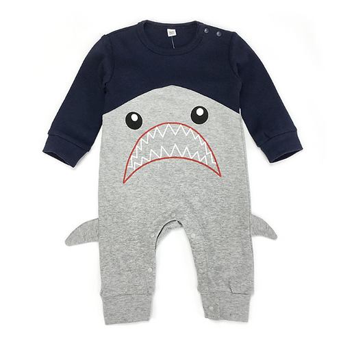 Cute shark bodysuit