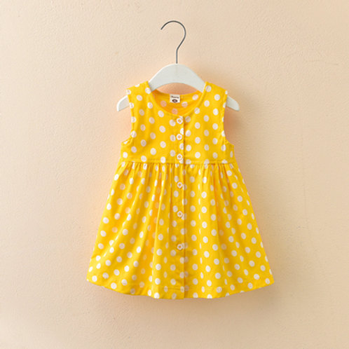 Yellow Drop Dress