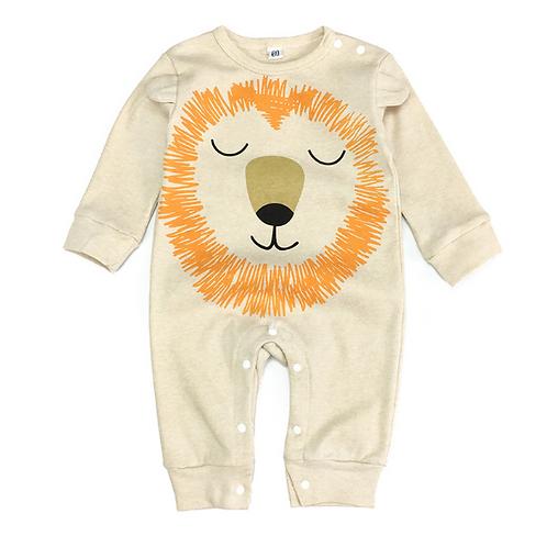 Cute lion bodysuit