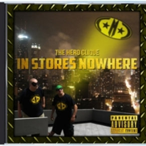 """THC """"In Stores Nowhere"""" Album (Physical Copy)"""