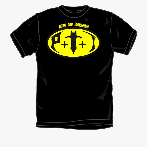 PTI Logo T (Black & Yellow)