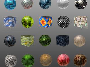 30 Textures Final Contact Sheet