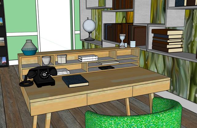 Travel Agency Office Design, Desk