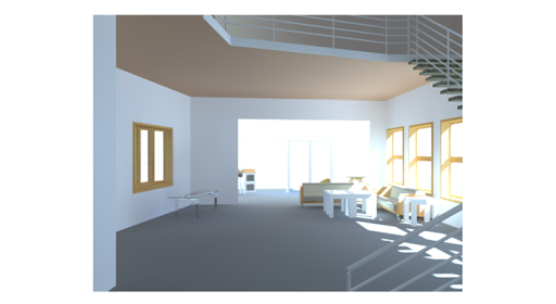 Interior Perspective View 2