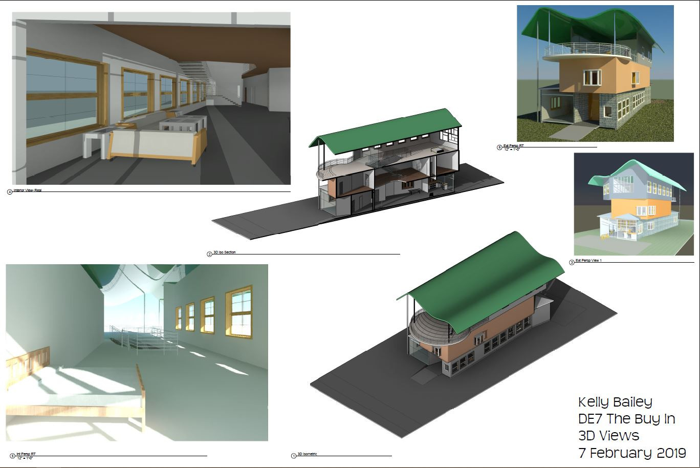 3D and Isometric Views