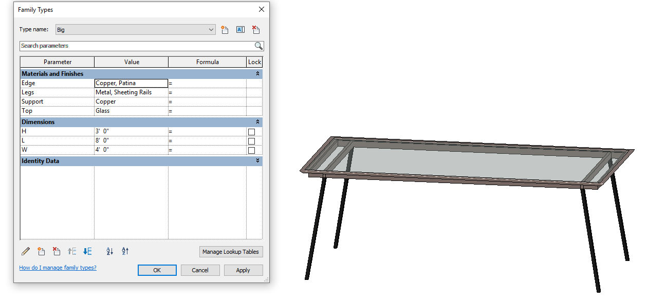 Design Exercise 12, Big Table