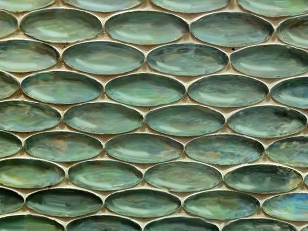 Digital Drawing of Oval Tiles