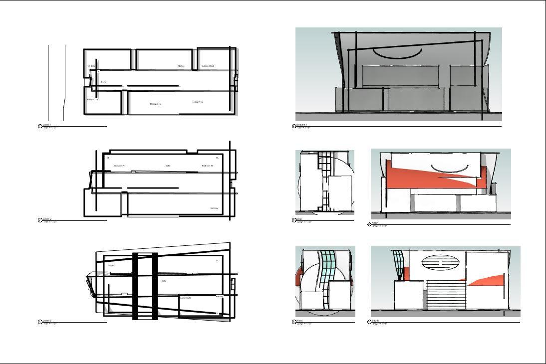 Design Exercise 14, Floor Plans