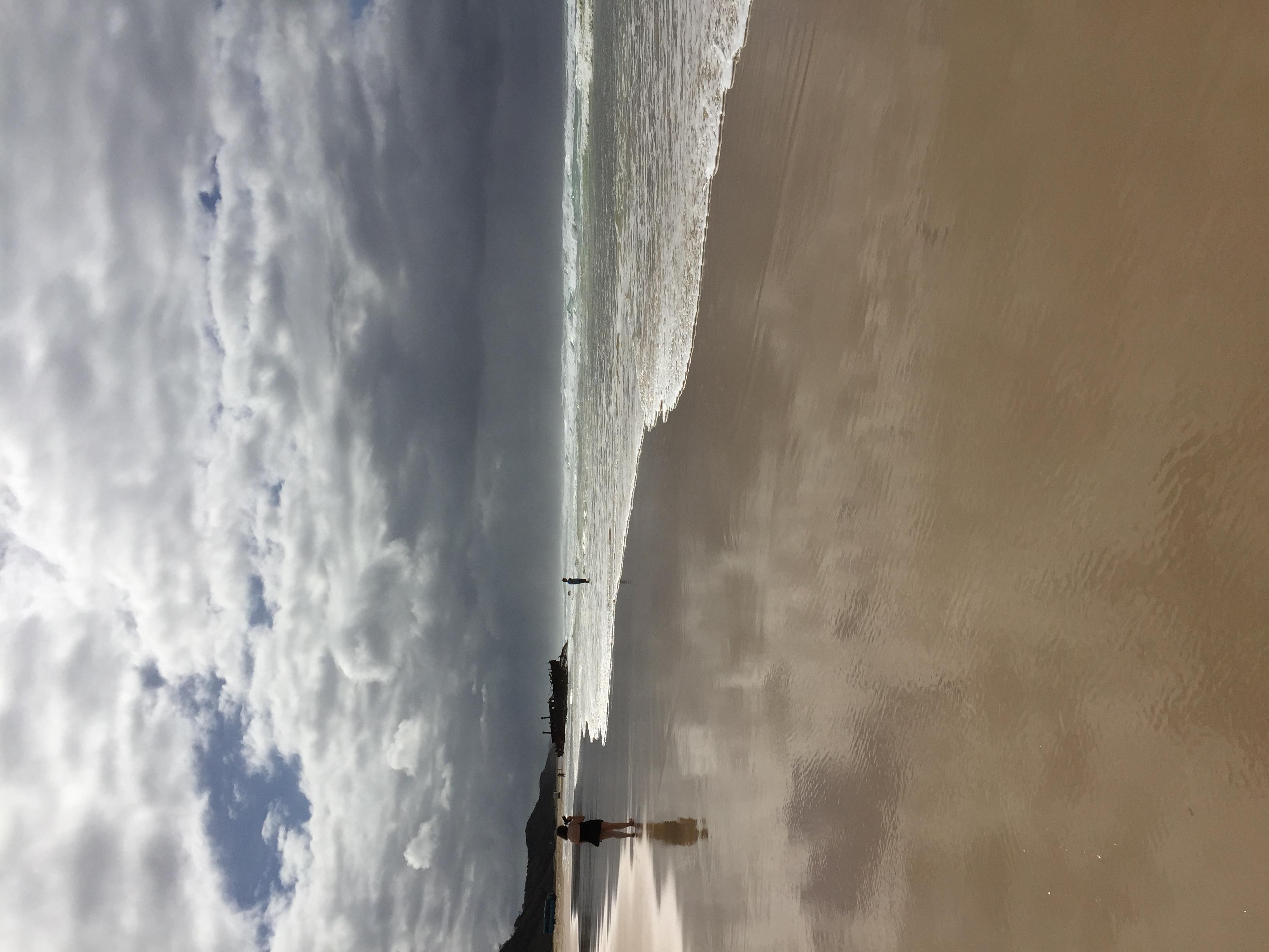 Storm Swept Sea