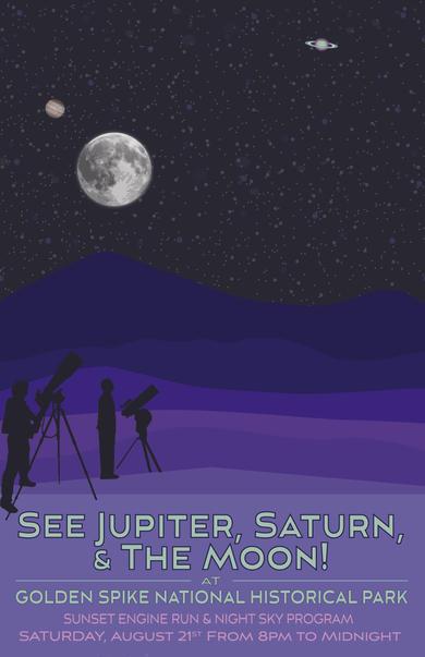 Night Sky 2 Poster