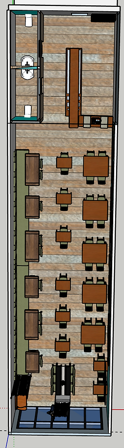 Pho Restaurant, Floorplan View