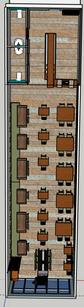 Pho Restaurant, Floorplan View