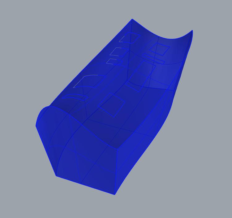 Design Exercise 17, Rhino Form