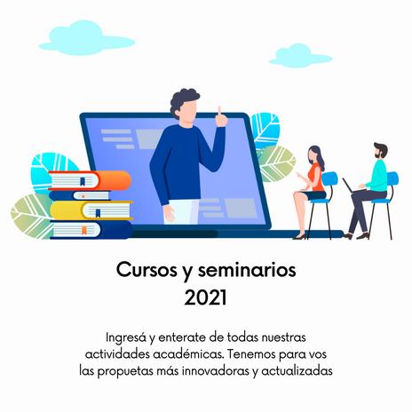 Cursos y seminarios 2021