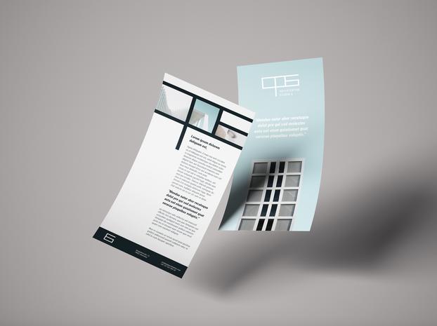 Flyer Architekturbüro