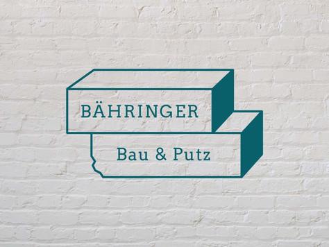 Bähringer Bau & Putz Logo