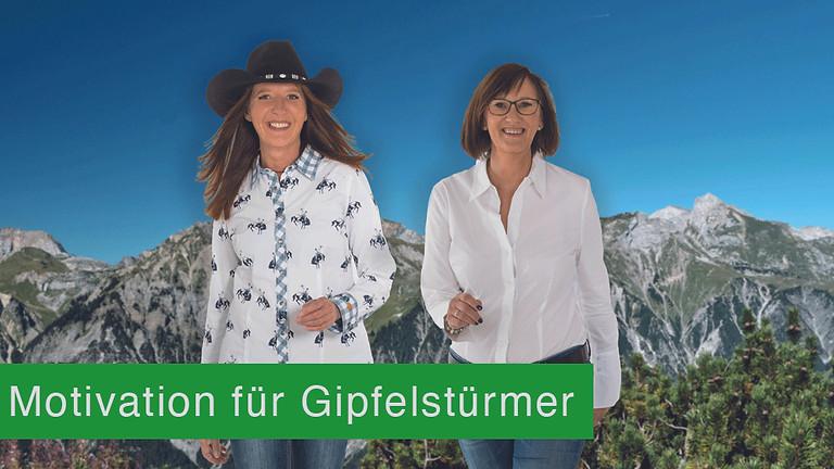 September Termin: Motivation für Gipfelstürmer & Humor auf höchster Ebene