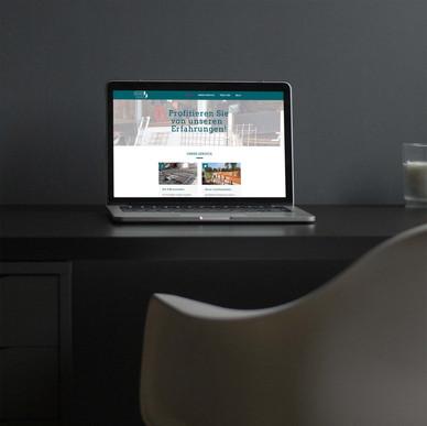 Website Bärhinger Bau und Putz