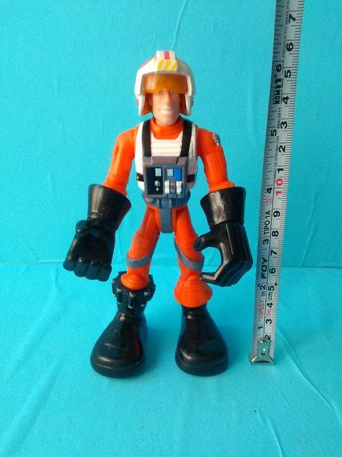 Star Wars Jedi Force Luke Skywalker X-Wing Pilot 2004