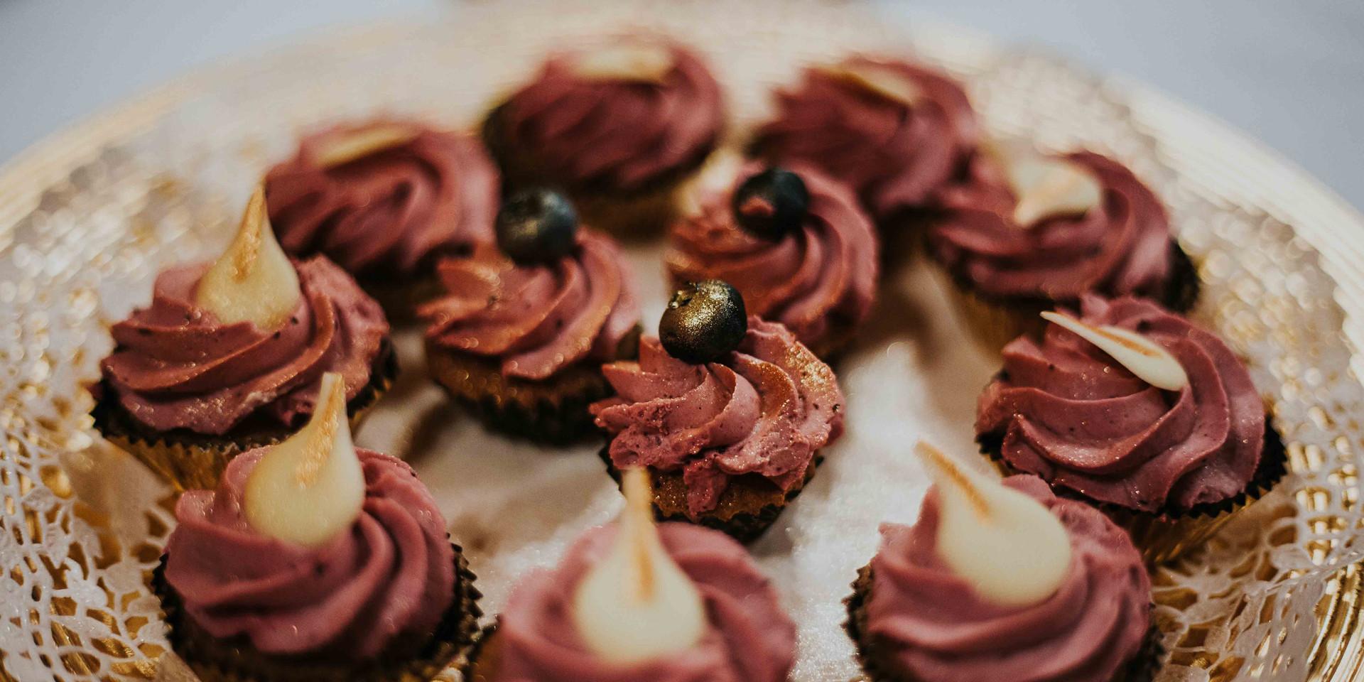 Mini muffin csudifinom krémmel