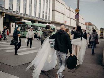 Egy fotózás képei és élménye...(2018 kollekció #kozaricsviktordress)