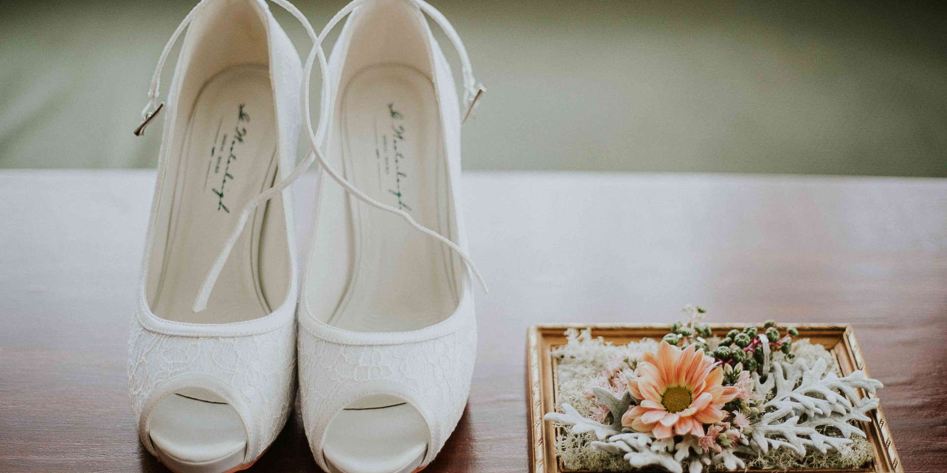 A cipő és a gyűrűpárna